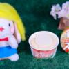 【スーパーカップ キャラメルラテ&クッキー】明治 3月9日(月)新発売、コンビニスイーツ アイス 食べてみた!【感想】