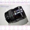 ミノルタ「MINOLTA AF ZOOM 28-85mm F3.5-4.5 MACRO」分解清掃