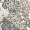 シャンプーの妖精 韓国塗り絵
