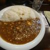 たまプラーザ【カレーハウス インドのとなり】豆腐とネギのキーマカレー ¥850+ライス大盛(400g)  ¥120