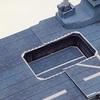 エレベーターは可動式です 護衛艦いずもペーパークラフト
