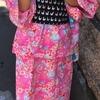 手作りのリップル浴衣とリバーシブルこども帯で夏祭りへ!