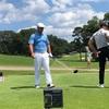 PGAツアーの最終戦、Tour championship の6番ホールで定点観測。デシャンボー選手の凄さにビックリです!!