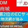 京東(JD.COM)中国第2位のECハイテク物流が強み 今後黒字化か