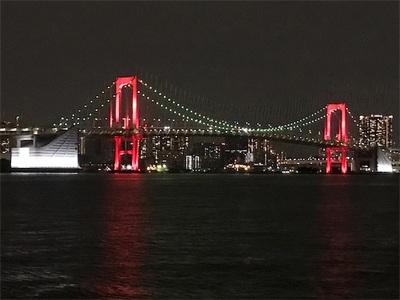 東京アラート〜思った以上に真っ赤なレインボーブリッジ〜