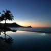 インフィニティプールで見た朝焼けが、ハワイ旅の〆に。今日から通常業務の再開です!