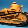 MENGモデル ルノーFT17軽戦車 マジノ女学院仕様