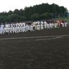 第50回の塩尻商工野球大会の開会式へ