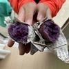 【日記】紫芋でやきいも