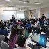 2020/1/31 前田小学校で授業「プログラミングで学ぶ電気の利用」を行いました。