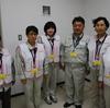 7日、東電福島第一原発視察。