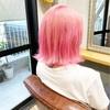 色んなピンクヘア!