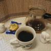今回のコーヒーはコロンビアSHB~お茶請けはクッキー~