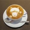 【リストランテ ペガソ(PEGASO)】カウンターランチにて可愛いクマさんラテアート♡