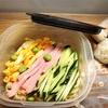冷麺弁当 と 旅行の準備
