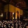 穂高神社に「安曇野神竹灯2016」を見に行ってきたよ。安曇野神竹灯は九州から伝わったお祭り。