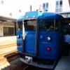 糸魚川駅で681系はくたか^^…2014年北陸本線