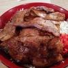 福大通りの「さとうの豚丼」、香ばしい豚バラと甘めのタレが相性バツグン!【食レポ】