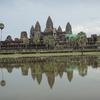 カンボジア シェムリアップ 「アンコール・ワット」遺跡  アンコール遺跡の代表、広大な遺跡、戦いの跡
