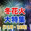 【2019】冬に開催される花火大会一覧11月・12月