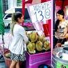 これからが旬!タイで新鮮なドリアンを食べよう@ドリアンの皮の剥き方