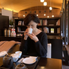 虎屋で煎茶。