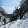 ◆2/3      鳥海山二ノ滝の氷柱を観に➃…ワカンを履いてバフバフ。
