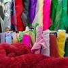 ロンドンで生地を買うならここ、生地の問屋街で買った布でカーテン作り