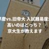 早慶vs.旧帝大 入試難易度が高いのはどっち? 京大生が考えてみた