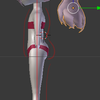 Blender備忘録21頁目「体のモデリング2」