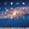OS X Lion、Launchpad:背景エフェクトを切り替える