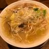 506. 豚バラと冬野菜の塩生姜タンメン@二階堂(九段下):昔懐かしい味のタンメン!身も心も温まりたい人はぜひ!