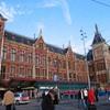 アムステルダムに30分滞在。