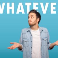 使い方に注意!「Whatever」の意味と使い方とは?例文でご紹介!