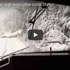 意外にも大雪を楽しんでいる列車運転士たち