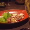 宮崎地鶏のタタキ 神戸三宮の鍋料理は安東