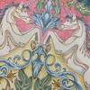 美術作品を参考に配色を考えてみた『ねむれる森』の一角獣の塗り絵