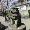 段山八幡宮の狛犬
