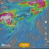 Windy.comによれば、台風14号が17日~18日、日本列島直撃か?。