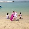 チナミ、海水浴♪^^ / ウチの会社も夏休み...が