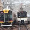 阪神1000系 1203F&近鉄5820系 DF52