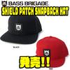 【バスブリゲード】BRDGのシールドロゴが入った「SHIELD PATCH SNAPBACK HAT」発売!