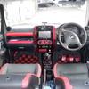 ジムニー JB23W 9型 車内(内装)赤化計画(赤カーボンシート等)