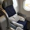 JGC修行(35&36/50):マレーシア航空のビジネスクラスを利用してみました!! ※フルフラットのシートは、やはり最高。