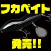 【ノリーズ×アカシブランド】スレバスにも効く縦波動のルアー「フカベイト」通販サイト入荷!