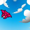 青空を飛ぶぷちゴン|ぷちゴン