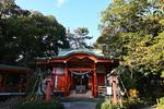 自由が丘のパワースポット、熊野神社へ