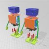 週刊中ロボ95 4日でできる! 二足歩行ロボット Day2 印刷 その2