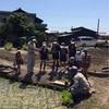 田植え観察を行いました。