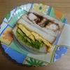 週末お手軽時短料理 チキンカツ&タマゴサンド より。